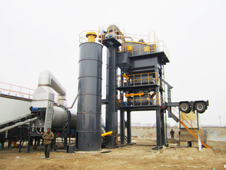 Mobile Asphalt Mixing Plant YLB Series