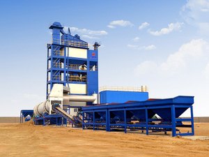 Asphalt Batch mixing plant LB series